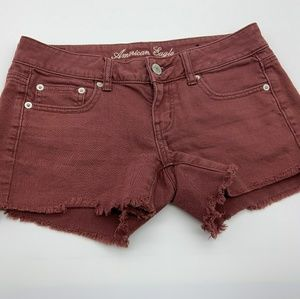 AEO Short Red Sz: 4